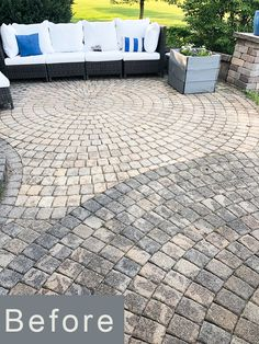 How to Remove Mildew and Mold from Paver Patio and Concrete Surfaces Outdoor Pavers, Brick Paver Patio, Garden Pavers, Garden Tiles, Patio Slabs, Cement Patio, Patio Tiles, Outdoor Tiles, Cleaning Concrete Patios