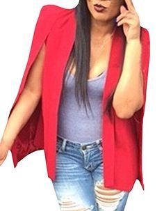Jiujiuyi Women's Red Turn-down Collar Cape Jacket JIUJIUYI http://www.amazon.com/dp/B01985JBM0/ref=cm_sw_r_pi_dp_csF5wb0NVQMX4