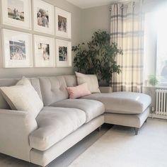 Corner Sofa Living Room, Narrow Living Room, New Living Room, Living Room Decor, Living Area, Small Chaise Sofa, Cream Living Rooms, Dfs Sofa, Sofa Price