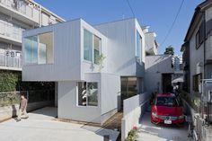 tetsuo kondo architects: house in chayagasaka - designboom