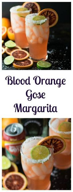 Blood Orange Gose Margarita | Beer Girl Cooks