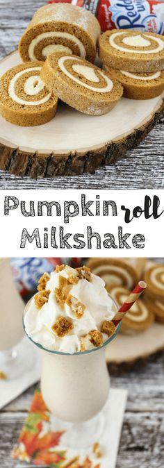 'Tis the season of all things pumpkin! This milkshake is a must-try!