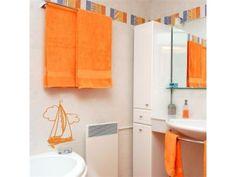 Banheiros multicoloridos – A moda de adesivar chegou até nos banheiros « Decorar