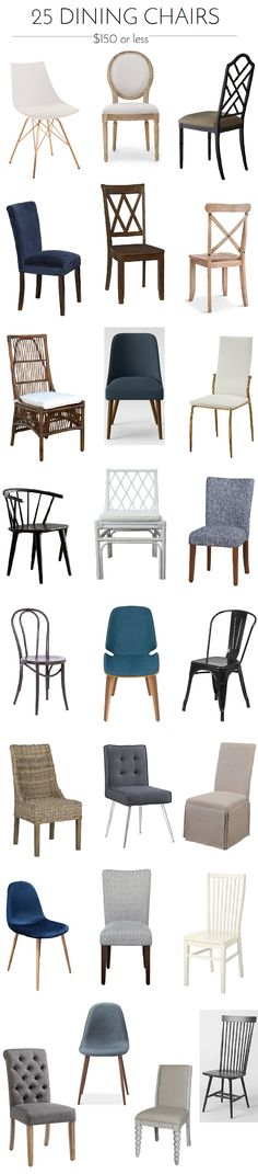 Holiday Prep: 25 Dining Chairs Under $150 - Emily A. Clark