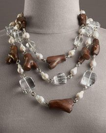 Stephen Dweck's Organic Chunky Necklace