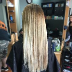 rooted #balayage #sombre #blondehair #redkensalon