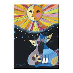 Risultati immagini per les chats de rosina wachtmeister Illustration Art, Illustrations, Cat Quilt, Cat Crafts, Cat Colors, Arte Pop, Cat Drawing, Cat Art, Oeuvre D'art