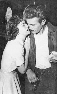 Natalie Wood and James Dean (Rebel Without a Cause)