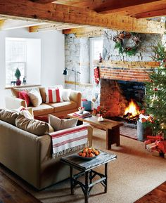 Cozy cottage Christmas