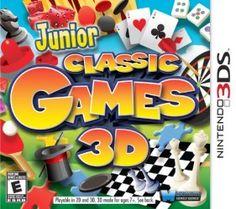 Junior Classic Games 3D – Nintendo 3DS