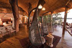 21 Amazing Treehouse Accommodations Around the World : Tree House at Tongabezi Lodge, Zambia