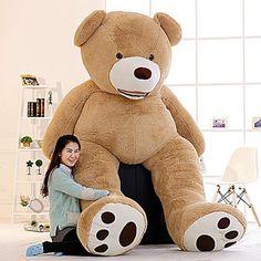 Great Big 9 Foot Teddy Bear : Giant 9 Foot Teddy Bear from GreatBigStuff.com