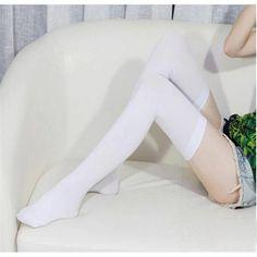 New Fashion Women Fashion Over Knee High Stockings