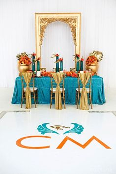 Events by Gia just loves this Egyptian-inspired Tablescape and Decor!   #atlanta #eventstyling #eventcompany #sherwoodeventhall #eventsbygia #weddingshower #weddingideas #entertaining #atlantavenues #entertainment #partyideas #wedding #weddingtablescape #elegantparty #partytablescape #burthdayparty #dinnerparty #anniversaryparty #prom