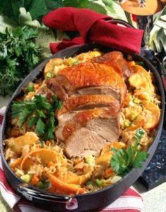 Meat Recipes, Cooking Recipes, Gordon Ramsay, Japchae, Paella, Turkey, Tasty, Ethnic Recipes, Food