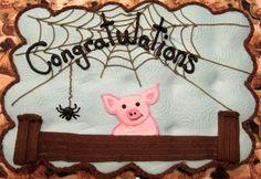 Charlottes Web cake