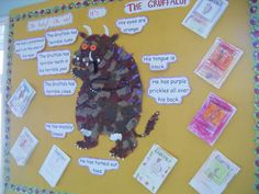 The Gruffalo - Classroom displays Gruffalo Activities, Eyfs Activities, Writing Activities, School Displays, Classroom Displays, Kindergarten Writing, Literacy, Montessori Elementary School, Gruffalo's Child