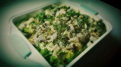 Brokkoli-Gemüseauflauf mit Gorgonzola #homemade #vetterhofrezept #gemüsekiste #leckerschmecker