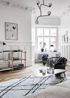 A beautiful wall covering shelf - via Coco Lapine Design | @juliaalena