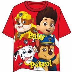 Camiseta de Patrulla Canina - Paw Patrol Red Team