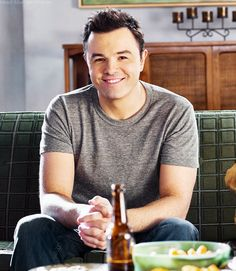 Seth MacFarlane, the genius behind Family Guy, American Dad, The Cleveland Show, and Bob's Burgers