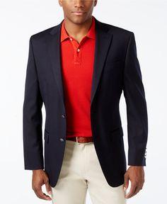 MICHAEL Michael Kors Solid Blazer - Blazers & Sport Coats - Men - Macy's