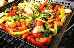 Classy Girls Grill: Vegetable Grilling Guide