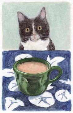 Coffee with Henry No. 4 by Kazumi Kochu.