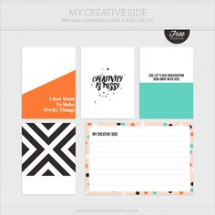 My Creative Side | Weekly Photo & Story Prompt feat. Free Journal Cards — Turquoise Avenue