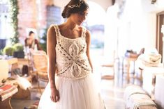 Girls Dresses, Flower Girl Dresses, Designer, Wedding Dresses, Lace, Flowers, Tops, Women, Fashion