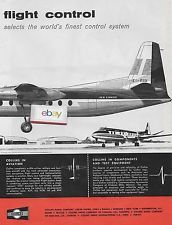 AER LINGUS IRISH AIRLINES FOKKER F-27 FRIENSHIPS COLLINS AUTO PILOT 2 PG AD