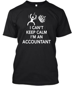 accountant, I can't keep calm