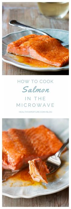 You won't believe how good salmon is cooked in the microwave. This recipe for salmon cooked in the microwave is a game changer! You'll never cook salmon any other way again.