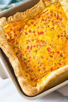 Easy 4-Ingredient Egg Bake by Sommer ~ A Spicy Perspective for The Pioneer Woman 'Food & Friends