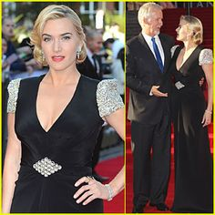 "Gorgeous & incredibly talented Lancôme ambassadress Kate Winslet walked the red carpet in London for the premiere of the 3D version of ""Titanic."" On this tremendous occasion, Kate wrapped her lips in rich and satiny L'Absolu Rouge lipstick in Ruby Silk."