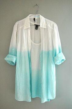 ombre shirt
