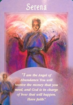 Serena Angel Card Extended Description - Messages from Your Angels Oracle Cards by Doreen Virtue Doreen Virtue, Calling All Angels, Affirmations, Angel Readings, Free Angel, Angel Guidance, Spiritual Guidance, I Believe In Angels, Angel Prayers