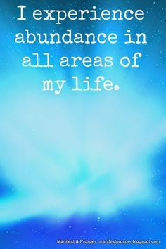 Manifest Prosper: Manifest Prosper: Experience Abundance affirmation