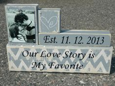 Hey, I found this really awesome Etsy listing at http://www.etsy.com/listing/156919348/wedding-gift-personalized-wooden-blocks