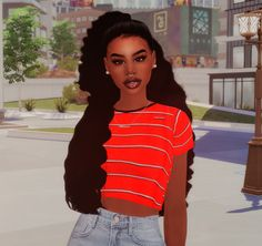 Blasiansimmer — kiegross:   💛JUICE | POPING💛 Keep reading The Sims 4 Pc, Sims 4 Teen, Sims Cc, Sims 4 Game Mods, Sims Mods, Sims 4 Mods Clothes, Sims 4 Clothing, Teen Girl Hairstyles, School Hairstyles