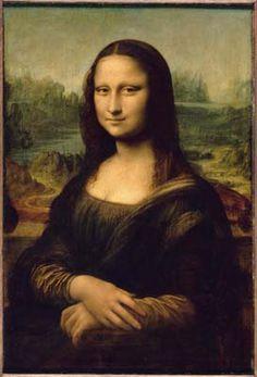La Joconde, Léonard de Vinci, au Louvre