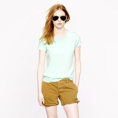 Collection silk crepe tee - blouses - Women's shirts & tops - J.Crew