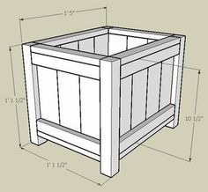 DIY Planter Box, version 3