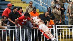 Pancadaria deixa três torcedores em estado grave no jogo Atlético-PR x Vasco - Esporte - Notícia - VEJA.com