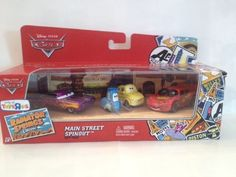 Pixar Cars Radiator Springs Classic-Toys R Us Only- Shiny Wax no ...