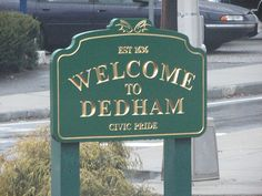 Dedham, MA. Just out side of Boston. My first job as a juvenile probation officer.