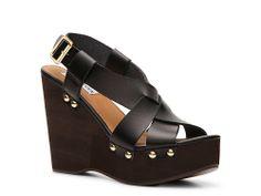 Steve Madden Walda Wedge Sandal. Want these!