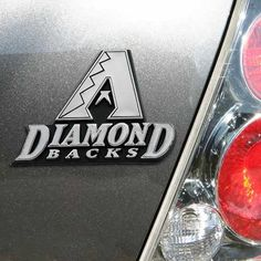 MLB Arizona Diamondbacks Chrome Automobile Emblem