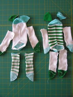 Sock Dolls-very cute and looks like even I can do it!