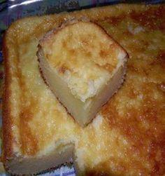 INGREDIENTES 4 ovos 2 copos (requeijão) de farinha de trigo 2 copos (requeijão) de açúcar refinado 1 copo (requeijão) de queijo ralado 3 colheres (sopa) cheia de manteiga 1 copo (requeijão) de leite 1 pitada de sal 1 colher (sopa) cheia de fermento em pó MODO DE PREPARO Em uma tigela adicione a manteiga, o…